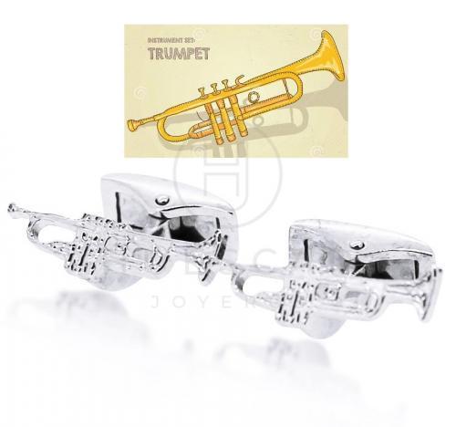 Gemelos instrumento trompeta