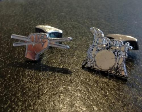 gemelos batería de plata