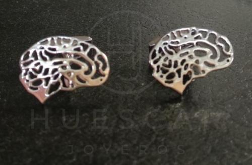 gemelos cerebro DE PLATA