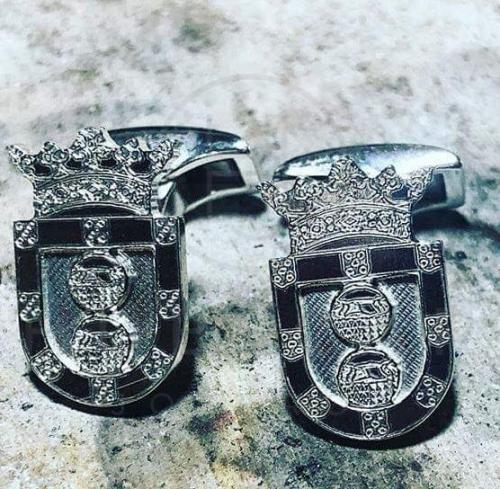 gemelos de camisa plata taller