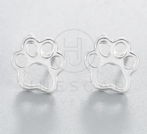 gemelos huella perro